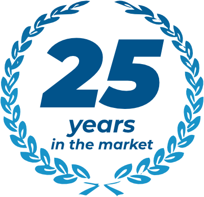 25 years in the market
